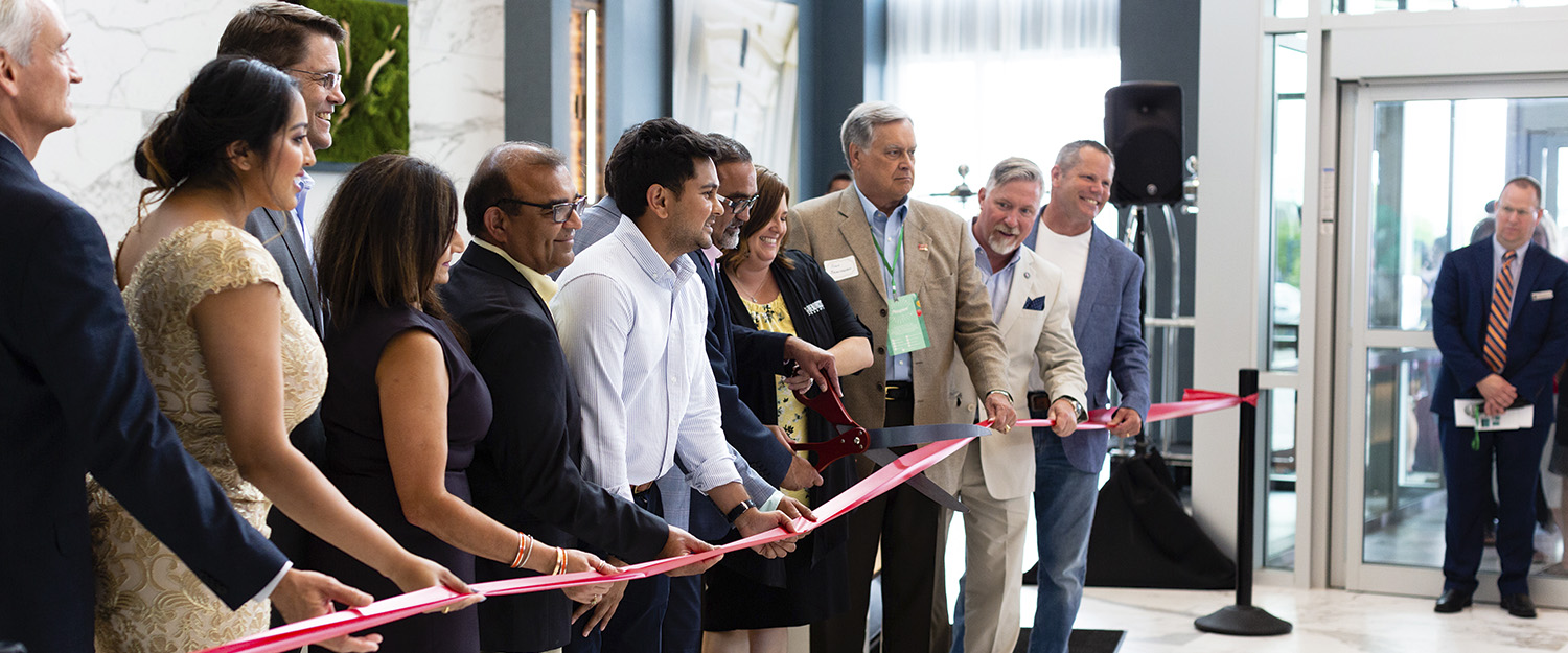 EMBASSY SUITES GRAND OPENING | event photography